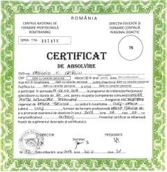 Certificat consilier dezvoltare personală Vasiloiu Cătălin 2018 website