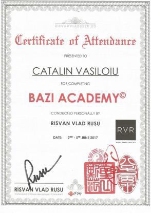 Diploma BAZI Catalin Vasiloiu