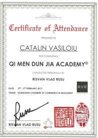 Diploma QMDJ Catalin Vasiloiu